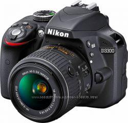 Камера Nikon D3300 Black
