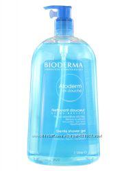 Гель для душа для сухой и атопической кожи Bioderma Atoderm 1 л в наличии