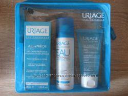 Набор Uriage Дорожный в косметичке крем флюид- термальная вода - гель