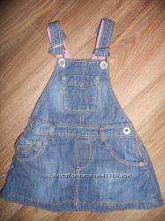 Сарафан джинсовый зара 80-86