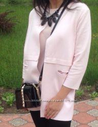 Шикарне ніжно-рожеве пальто