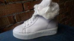 Модные ботинки на меху
