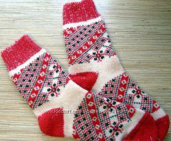 Теплі шкарпетки з натуральної вовни