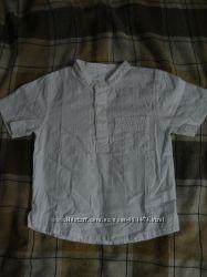 Белая летняя рубашка 1-1, 5 года Name it