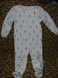 Пижамка-человечек Carter&acutes на малышку  3Т