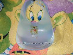 Слюнявчик пластиковый  Canpol babies