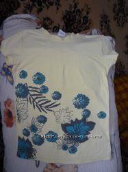 Качественная натуральная футболка на девочку польского пр-ва