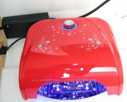 LED UV УФ лампа сушка для наращивания маникюра 36Вт сенсор таймер гарантия