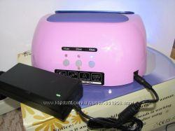УФ UV ЛЭД LED CCFL лампа для наращивания ногтей 48 вт с сенсором маникюрная