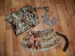 костюм леопарда 6-9 лет