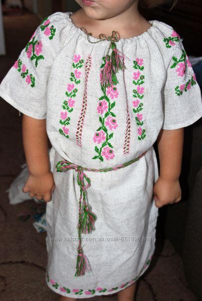 Плаття-вишиванка для дівчинки a6cc250ba1486