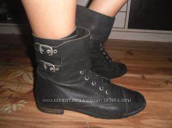 Супер стильные ботиночки, натуральная кожа, испания