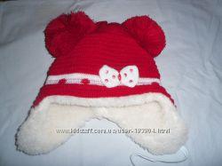 Зимне теплые шапки-ушанки для девочек