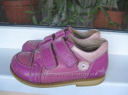 Кожаные ортопедические туфли Ecoby