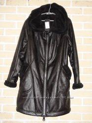 Чёрное короткое пальто ПОД ЗАКАЗ 2-3 ДНЯ р. 50-64