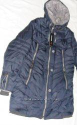 Зимняя куртка цвет Синий р. 52