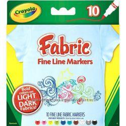 Маркеры Crayola для рисования на ткани
