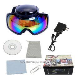 Горнолыжная маска с видеокамерой, экшин камера, спортивная видеокамера