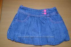 Продам джинсовую юбочку Crazy8 р. 18- 24