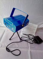 Диско лазер, стробоскоп, светомузыка YX-09