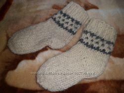 продам носки детски из овечьей шерсти, 15 см. 24 размер. одеты 1 раз.