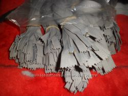 продам застежку молнию 18 см есть 2 цвета серый и коричневый.