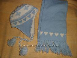 продам шапку и шарф.
