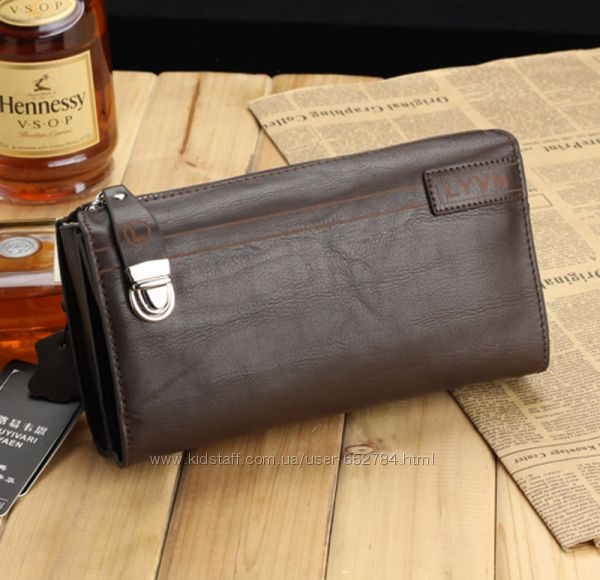 Мужская кожаная сумка Hugo Boss, черная, арт 5990-5