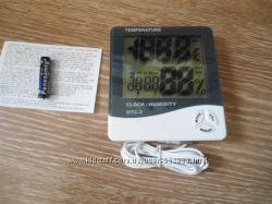 Термометр гигрометр часы выносной датчик