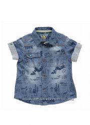 рубашка летняя лен Chicco на 92см