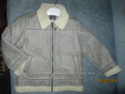 Chicco дубленка-курточка для мальчика или девочки 98 р.