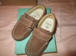 Детские полуботинки, туфли, мокасины CLARKS 16см