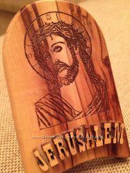 Икона из дерева из Иерусалима