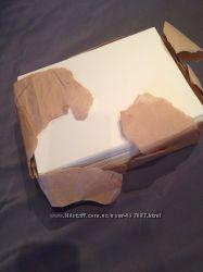 Бумага дизайнерская слоновая кость лён плотная А5