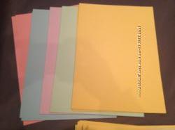 Бумага цветная для принтера Микс Пастель А4 50 листов
