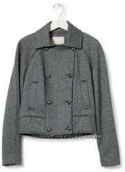 Короткое пальто, шерсть Banana Republic М-L 10 размер Old Navy