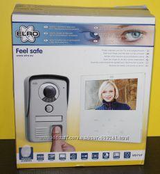 Видео домофон с функцией чтения отпечатков пальцев