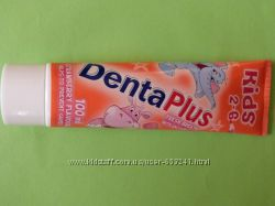 Детская зубная паста Denta Plus со вкусом клубнички 2-6 лет