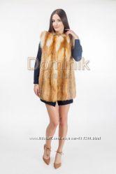 Продам жилетку из меха лисы по цене производителя
