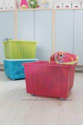 В наличии Ящик, короб на колесах для хранения игрушек Вессла, Vessla