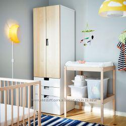 Пеленальный столик, пеленатор натуральный бук Икеа Икея Ikea Ікея