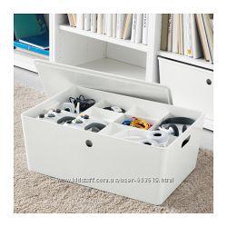Ящики для компактного хранения, 4 объема