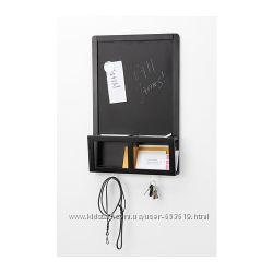Доска для записей магнитная, черный