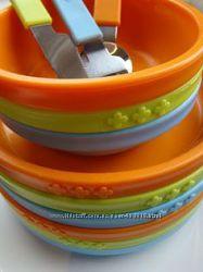 В наличии Детская посуда, тарелки, миски набор 3 шт. Икеа Икея Ikea