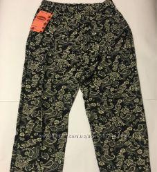 Легкие воздушные летние штаники бамбук 42-50р Разные расцветки