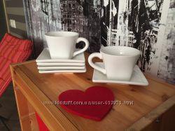 Сервиз чашки и блюдца Grace