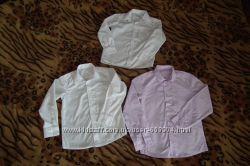 Школьные рубашки мальчику 128 M&S, Tu, Orby.
