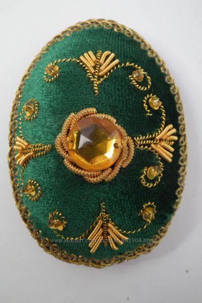 Пасхальные яйца вышитые