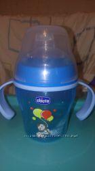 Чашка поильник Chicco soft cup