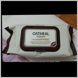Очищающие салфетки Calmia cleansing tissue для демакияжа